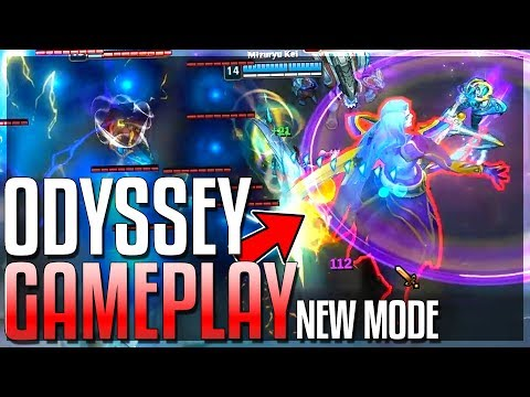 ODYSSEY: NEW MODE GAMEPLAY!! New Map, Abilities & MORE!! Odyssey Gameplay - League of Legends
