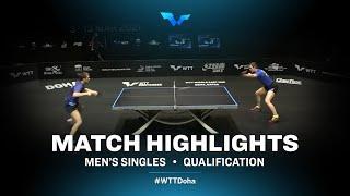 Vladimir Sidorenko vs Cedric Nuytinck | WTT Contender Doha 2021 | Men's Singles | QUAL Highlights