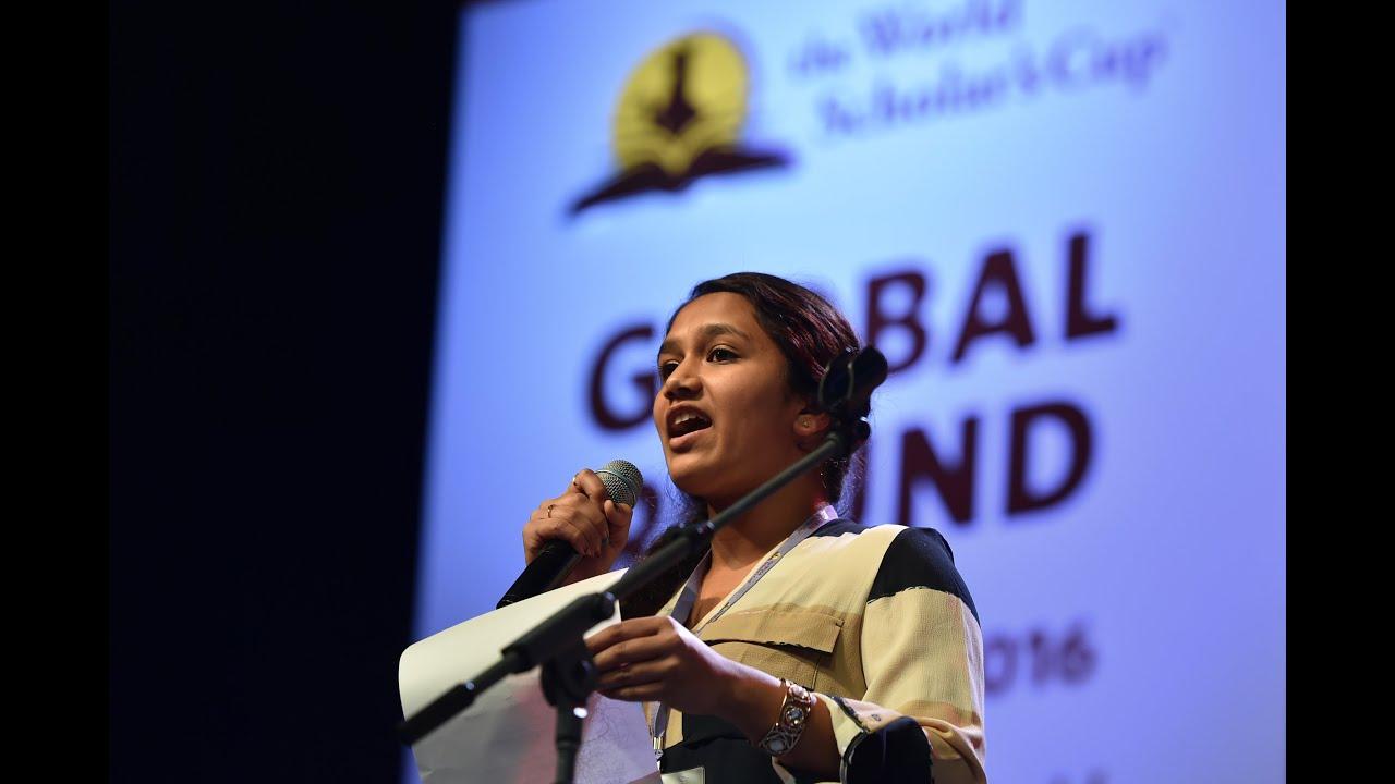 Download World Scholar's Cup Global Round 2016: Jr. Debate Showcase