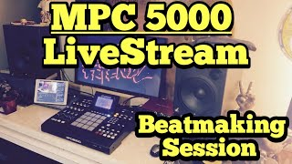 Akai MPC 5000 - Beatmaking LiveStream Hangout