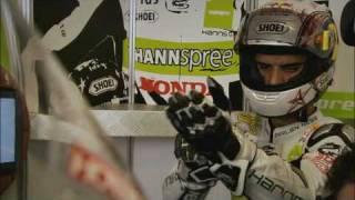 Mark Webber at Donington