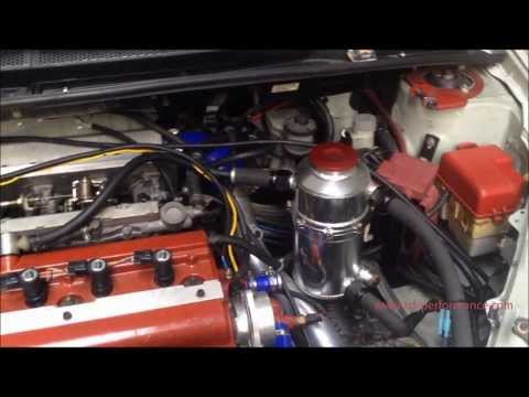 Supercharged Toyota 4AGE 20V Black Top