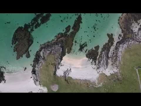 Outer Hebrides by drone