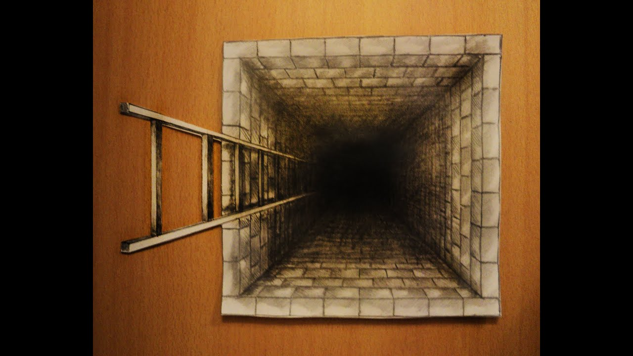 3d Perspective Drawing Illusion | www.imgkid.com - The ...