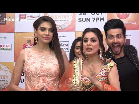 Kundali Bhagya Cast At Zee Rishtey Awards 2018 | Dheeraj Dhoopar, Shraddha Arya, Anjum Fakih