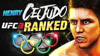 THE GOLD METAL CHAMPION HENRY CEJUDO UFC 3 RANKED