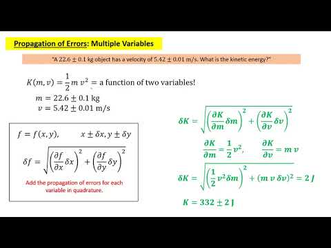 How To Calculate Error Propagation Physics - Doctor IT Solutions
