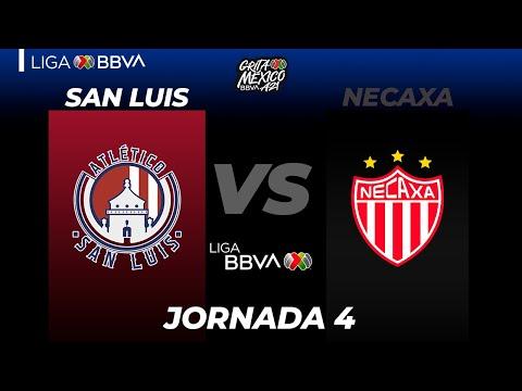 San Luis Necaxa Goals And Highlights