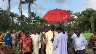Raphael-Evelyn Mission: Revedu Video 16: Blessing of School Construction Ground