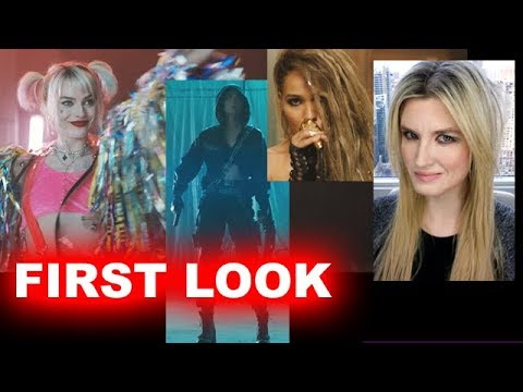 Birds of Prey 2020 FIRST LOOK - Harley Quinn, Black Canary, Huntress