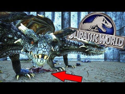Download Youtube: DRAGONES GIGANTES Y DINOSAURIOS JURASSIC WORLD 2 ARK PARK