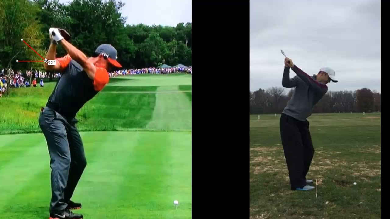 Rory McIlroy's Powerful Backswing | How To Square The