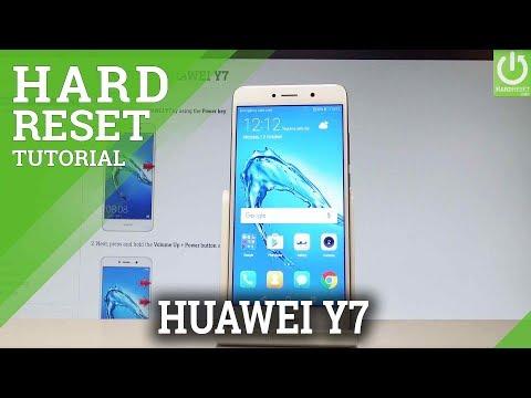 Hard Reset HUAWEI Y7 - HardReset info