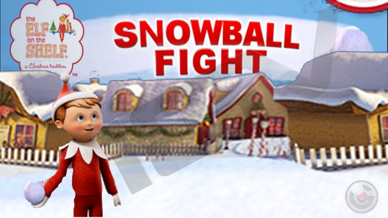 snowball fight elf on the shelf ® christmas game - iphone gameplay