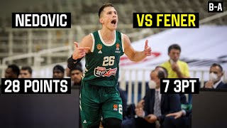 Nemanja Nedovic 28 points vs Fenerbahce (7/12 3PT) | Full Highlights