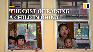 How much does it cost to raise a child in China?