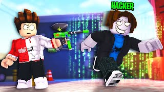 HO DISTRUTTO un HACKER. (*ASSURDO*) - Roblox: Paintball