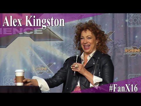 Alex Kingston  Full PanelQ&A  FanX 2016