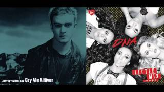 Justin Timberlake vs. Little Mix - Cry Me A River vs. DNA (Mashup)