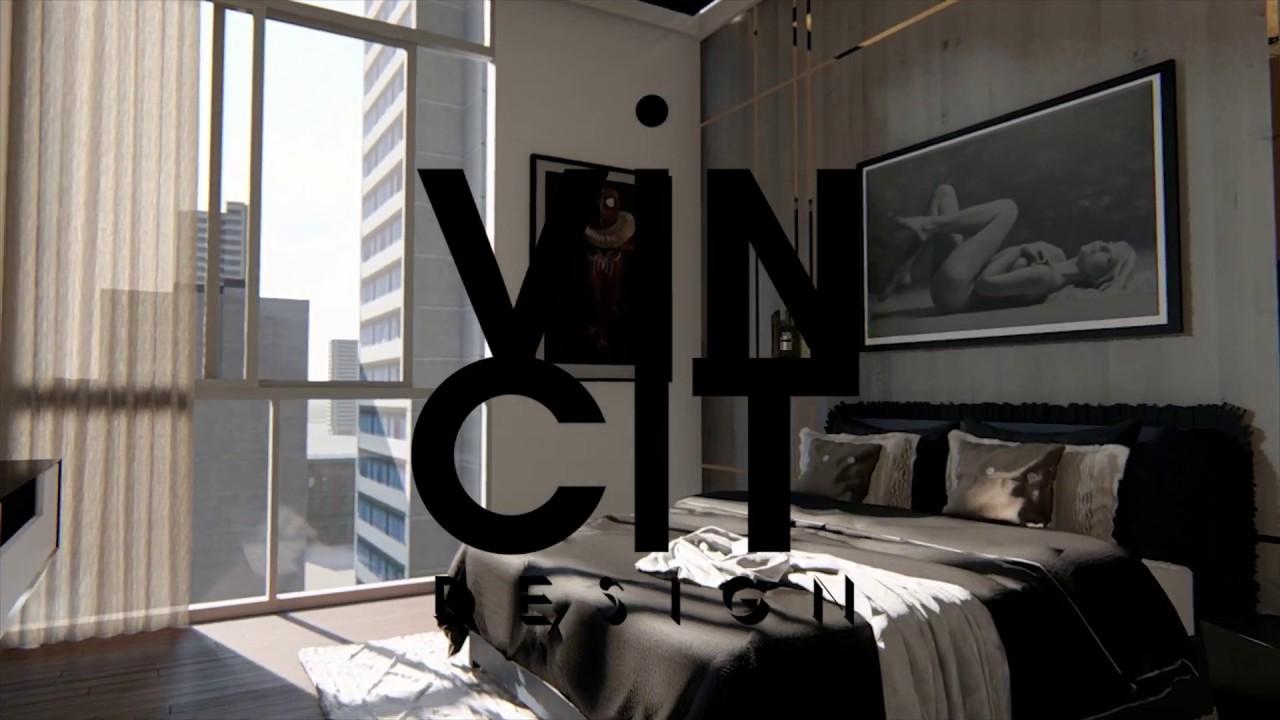 Recorrido Virtual para proyecto de diseño de interiores de departamento en Providencia