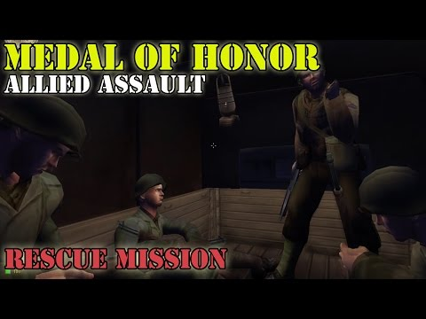 Medal of Honor Allied Assault - Mission  1 - ARZEW (HD, No Commentary)