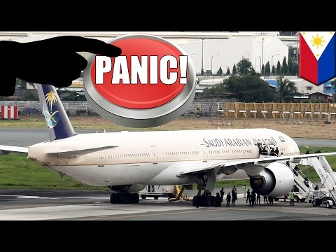 Saudi airlines hijacking false alarm: Plane crew mistakenly press distress button twice - TomoNews