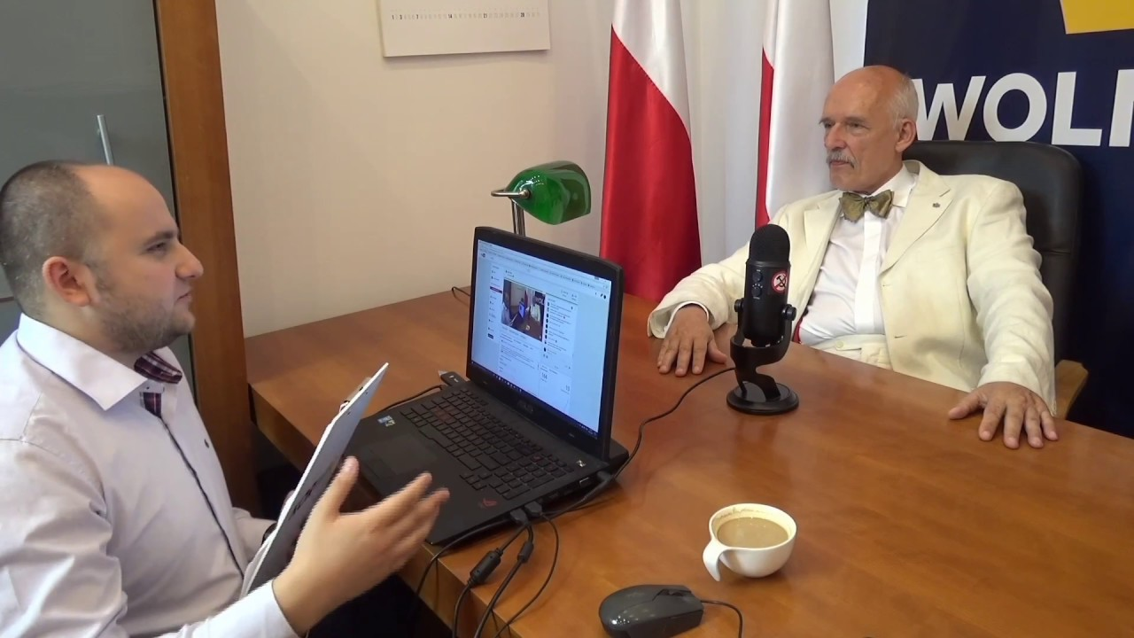 Janusz Korwin-Mikke o reformie sądownictwa, totalnej opozycji, wecie prezydenta