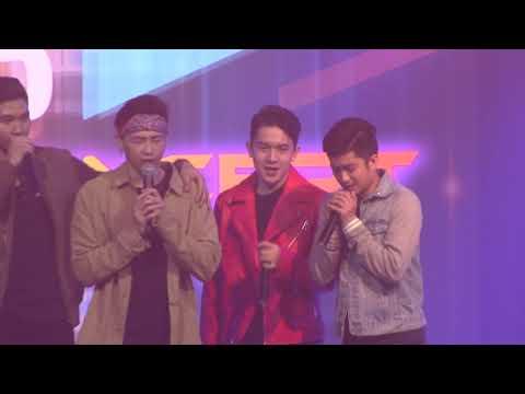 HUGOT BROTHERS Nakipag HUGOTAN sa concert ni Baninay Bautista