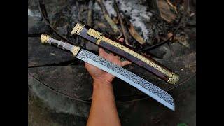 pedang katana tanto tes ketajaman