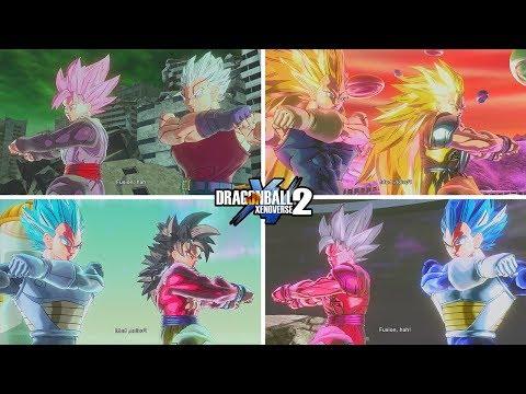 Goku and Vegeta Fusions - Dragon Ball Xenoverse 2 Mods