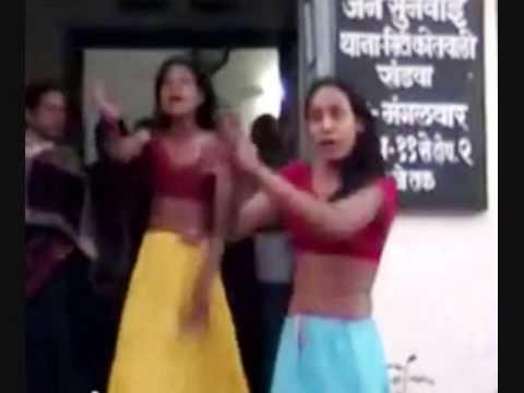 Transgender Protest Against Police In Khandwa