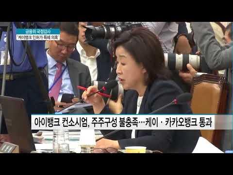 금융위 '케이뱅크 인허가 특혜 의혹' 집중 난타