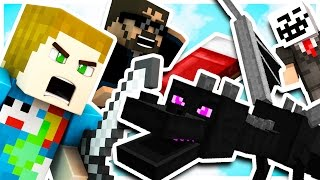 BED WARS - KILLING THE ENDER DRAGON CHALLENGE?! W/ SSundee & Ambrew & Kehaan