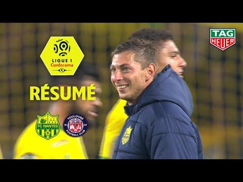 FC Nantes - Toulouse FC ( 4-0 ) - Résumé - (FCN - TFC) / 2018-19