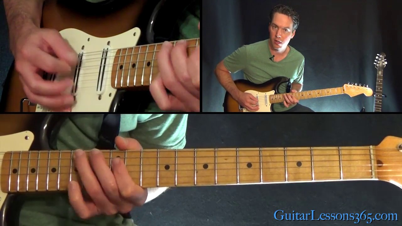 Bringin On The Heartbreak Guitar Lesson Def Leppard Youtube