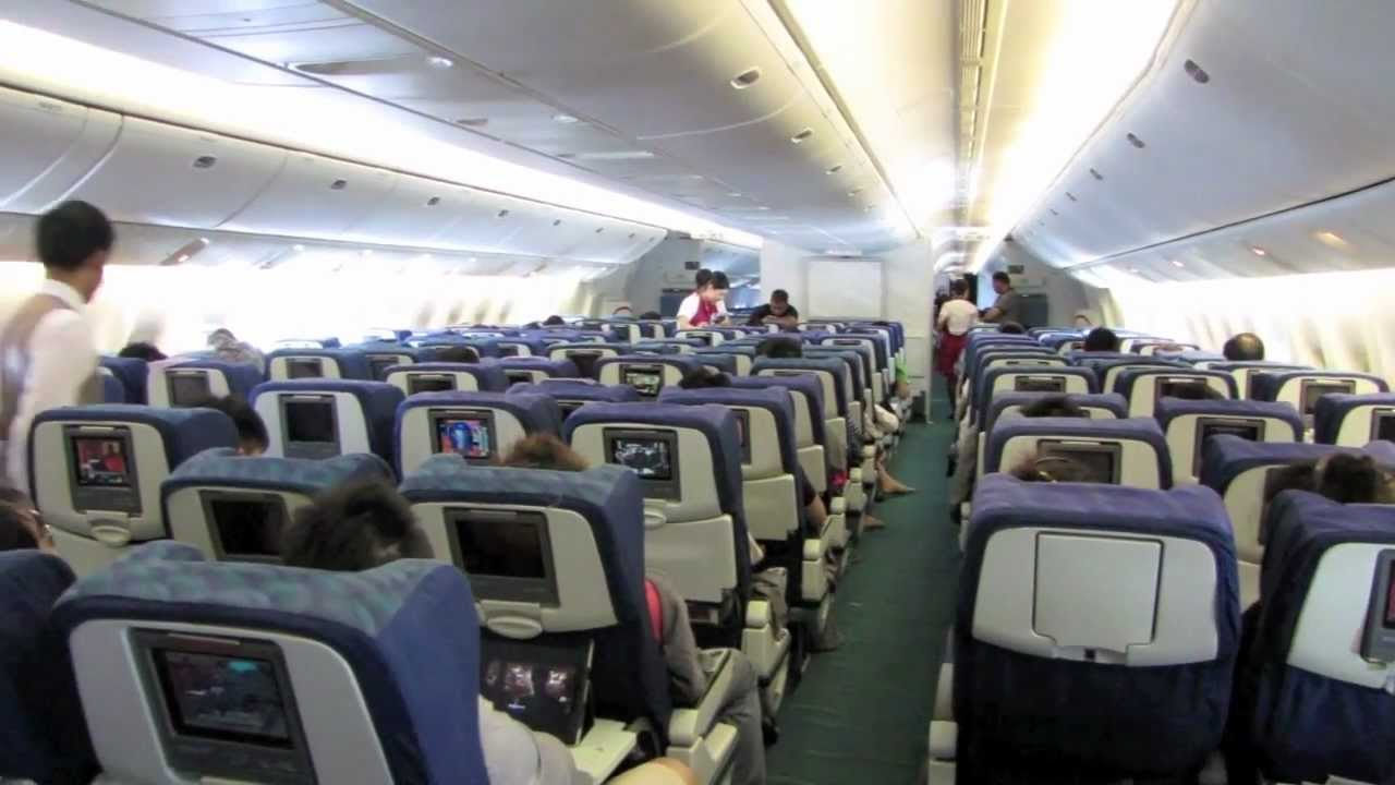 Cathay Pacific Economy Class Review: CX713 BKK-SIN - YouTube
