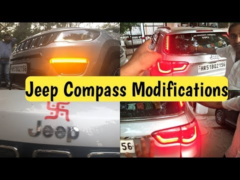 Modified Jeep Compass | Front Grill | Led Indicators | Pillar Tail Lights