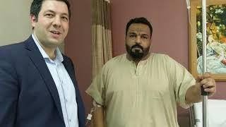 تابع تفاصيل حالة المريض بعد 24 ساعه من قص المعدة (التكميم) في الأردن مع الدكتور حمزة الحلواني