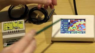 Беспроводный контроллер гелиосистемы - тестовый