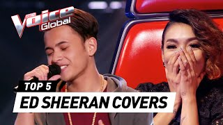 Video The Voice | BEST ED SHEERAN Blind Auditions [PART 2] download MP3, 3GP, MP4, WEBM, AVI, FLV Juli 2018