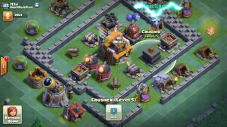 Clash of Clans New level of Archer Tower, Clock Tower, Crusher Builder Base