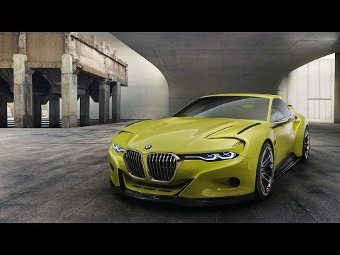 2015 BMW 30 CSL Hommage Concept Review Rendered Price Specs Release Date