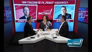 "Арбен Таравари и Љупчо Зиков во ""Само Вистина"" 9.4.2019"