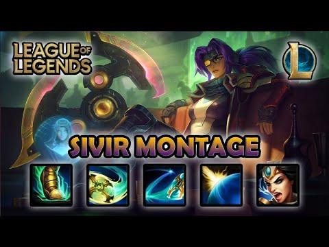 SIVIR MONTAGE - Hit and Run | Odyssey Sivir Skin | League of Legends