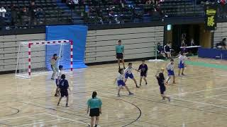20191201福岡県中学新人ハンドボール(女子) 決勝 春吉vs多々良中央(後半)