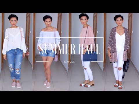 Huge Summer Unpacking and Try On Haul