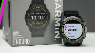 Garmin Enduro // Unboxing, Setup, UltraFit Strap, and Initial Thoughts!