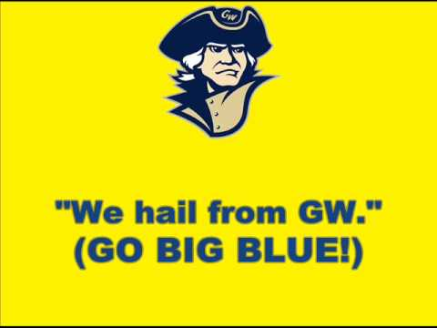 George Washington fight song