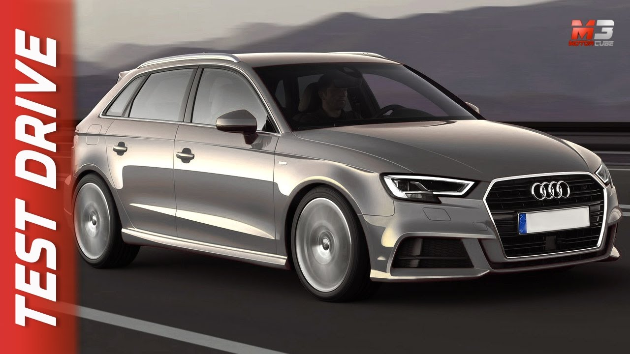 new audi a3 sportback 2017 - first test drive ita - youtube