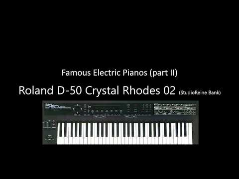 Famous Electric Pianos part II